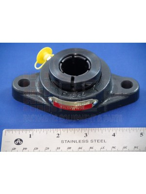 "Shanklin - 1"" B, 2 Hole Flange Bearing - BB-0012"