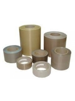 "PTFE Coated Tape - 1/2"" x 10mil x 18YD PTFE Coated Tape w/ Acrylic Adhesive - 40011T"